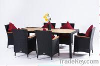 Sell rattan dining set:ESR-22667