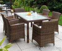 Sell rattan dining set:ESR-7068