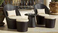 Sell rattan coffee set:ESR-11460