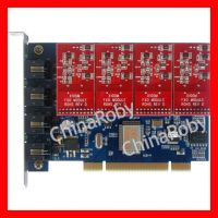 TDM400P -4 Port FXO FXS card , supports Asterisk Trixbox Elastix FreePBX, tdm410p