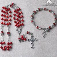 Sell rosary set, coral ladder rosary set, rosary gift sets