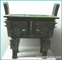 Sellbronze antique imitation: Quadripod Ding for Blessing