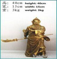 Sell bronze craft Guan Gong
