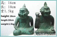 Sell bronze antique imitation Bronze Rap Tomb Figure