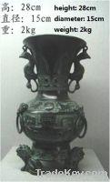 Sell  antique imitation craft Three Lions Round