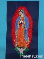 Embroidery Pictures of Our Lady of Guadalope