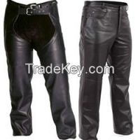 biker leather chap