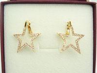 Super Nice Shiny Star Crystal Earrings For Lady Item ID #BLYE-016542B-A