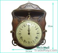 Sell antique wooden clock