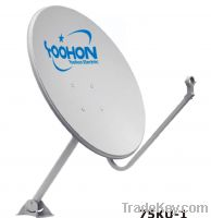 Sell 75cm Offset Satellite Dish Antenna with 500hours QUV