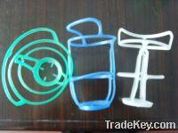 Sell 50ml-500ml plastic hanger for infusion glass bottles