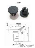 Sell 13mm butyl rubber stoppers, tubular vial, bottle cap