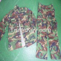 Sell used militay uniform from Korea.
