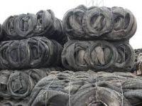 Baled scrap tyre