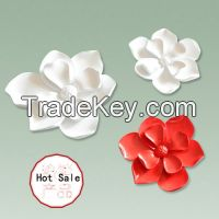 Resin flowers for wall decoration