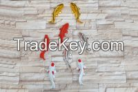 Resin Carp Fish Crafts for wall decoration