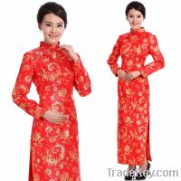 (Free shipping) Chinese traditional dress