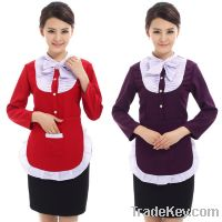 Sell Restaurant and hotel waitress uniform with wholesale price