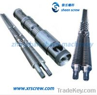 Sell 2012 chinapalst conical twin/double screw and barrel/cylinder