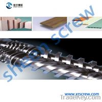 Sell conical double/twin barrel and screw/cylinder and screw for WPC