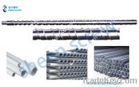 Sell chrome plating pvc pipe single screws/barrels/cylinders