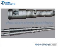 Sell Bimetallic 51/105 conical twin screw and barrel for PVC ceiling