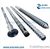 Sell single screw and barrel/cylinder for rigid pvc granulation