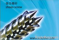 Sell wpc conical double screw and barrel/screw and cylinder