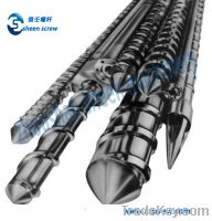 Sell bimetallic single screws and barrels for injection molding
