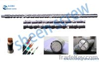 Sell XLPE cable screw and barrels/screw and cylinder