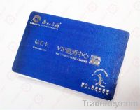 Eco-friendly plastic PVC card