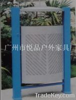 Sell outdoor metal dustbins