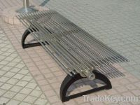 supply stainless steel garden benches