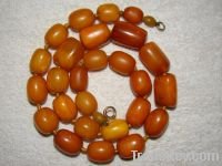 Old, real, antique amber and Coral necklaces!