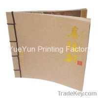 Sell book printing with full color printing, glossy lamination