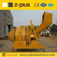 Commercial JZR350H diesel engine concrete mixer