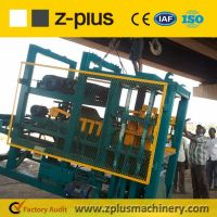 Sell block machine QTY6-15 in good condition