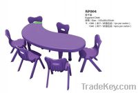 kindergarten furniture of  tables and chairs