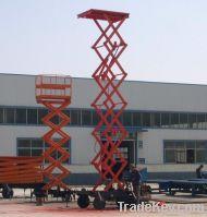 Sell Mobile scissor work lift platform(SJY0.3-8))