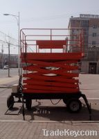 Sell Mobile Scissor Lift Platform With Stretchable Table
