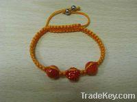 Sell Cz Crystals Clay Bead Bracelets Shamball