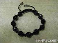 Sell Agate Crystal Ball Bracelet, Fashoin Unisex Ajustable Jewelry
