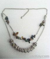 Sell 100% pure handmade Yuxuan fashion natural stone necklace jewelry