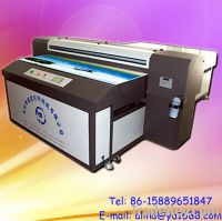 Sell industrial inkjet flatbed printer