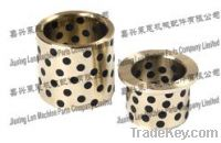 Sell Casting bronze bushing with graphite