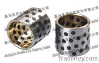 Sell Casting bronze steel bushing with graphite