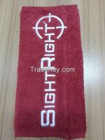 Sell embroidered cleaning cloth 40x40cm with print logo