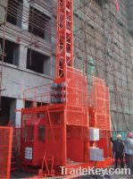 Sell Construction Elevator 2x1000kg