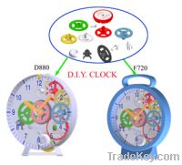 Sell Children Toy clock, Plastic Toy clock, Girl Toy clock