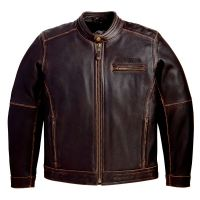 leather fashion jacket for men